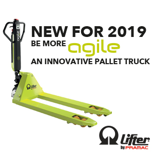 New Agile pallet truck for 2019