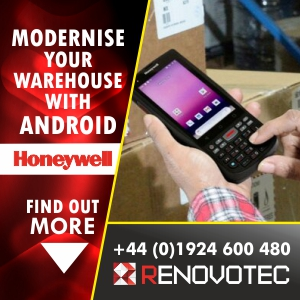 Modernise your warehouse with ANDROID by Honeywell from Renovotec - FIND OUT MORE