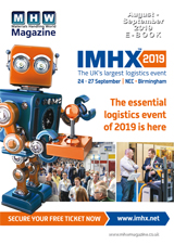 August - September 2019 Materials Handling World Digital Magazine Preview