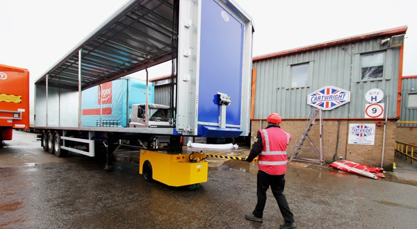 Bradshaw provide new Electric Trailer Movers to The Cartwright Group