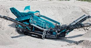 Powerscreen Warrior 2100 screen a solution for every application