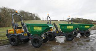 Ranger Plant adds five new Terex Construction site dumpers to equipment portfolio