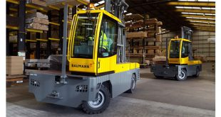 Baumann trucks tackle tall timber at Arnold Laver
