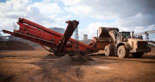 terex finlay Powerhouse performance persuasive for steel works