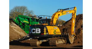 JCB HELPS RECYCLE SOUTHERN KEEP ON TOP OF INERT MATERIAL