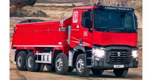 RENAULT TRUCKS DEMONSTRATES BREADTH AND DEPTH OF CONSTRUCTION RANGE AT HILLHEAD 2018