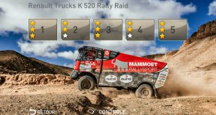 RENAULT TRUCKS ADDS A NEW RALLY-RAID ENVIRONMENT TO ITS TRUCKSSIMULATOR APP