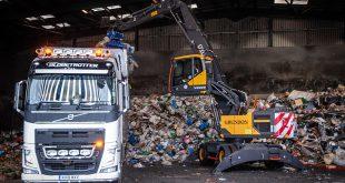 Grundon opt for Volvo new Material Handler