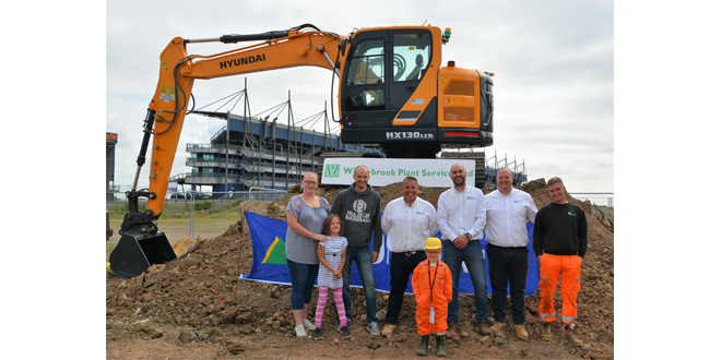 Hyundai Dealer Willowbrook Plant Throw Birthday Party for Digger Mad Charlie