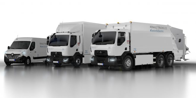 RENAULT TRUCKS RECORDS A 10 percent INCREASE IN INVOICED VEHICLES IN 2018