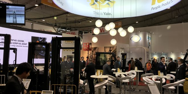 Visitors experience 'This is Yale Europe Material Handling' at LogiMAT 2019