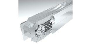 BEUMER Group Press Release - Robust belt apron conveyors Economic transportation of cement clinker