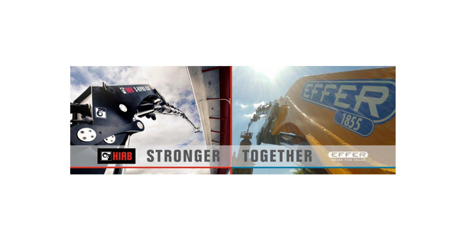 Hiab and Effer stronger together in UK