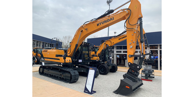 Hyundai Construction Equipment Europe HCEE returns to Plantworx with new models