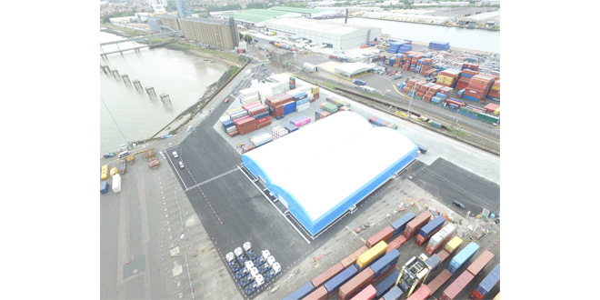 Maritime Transport opens new rail connected distribution terminal at Tilbury