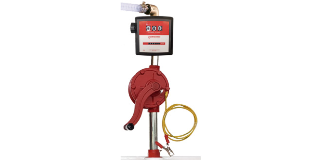 New BRM-88 ATEX Manual Fuel Transfer Pump available at Bell Flow Systems