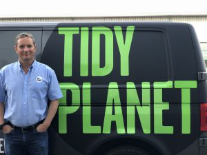 Simon Webb - managing director at Tidy Planet