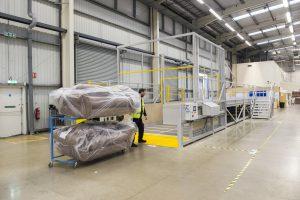 Transdek designs bespoke modular loading lobby