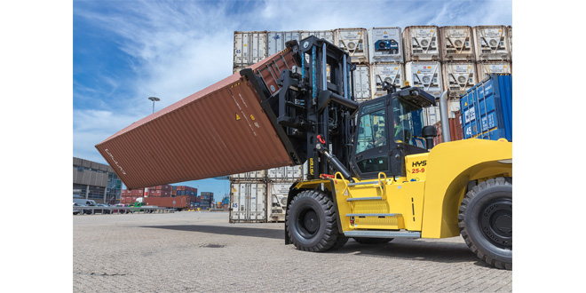 HYSTER OPTIMISES REPAIR YARD CONTAINER HANDLING