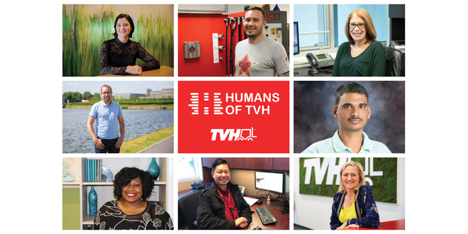 TVH launches website with employees in the spotlight