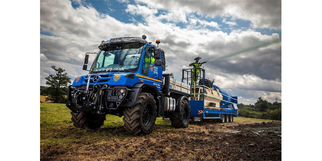 Acorn Environmental sows new seeds of success with versatile Mercedes-Benz Unimog