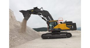 High praise for Europes first Volvo front shovel excavator