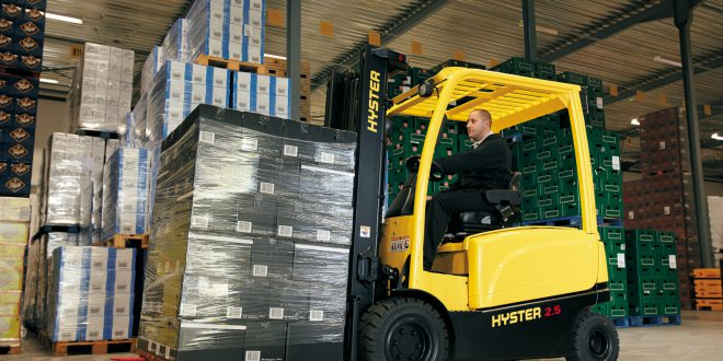 Is the Future of Forklifts All Electric