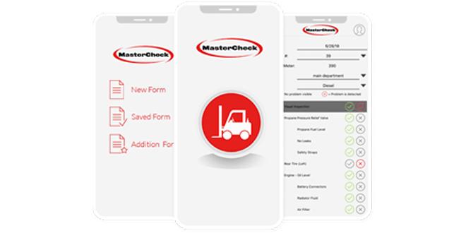 MasterCheck app improves forklift safety practices