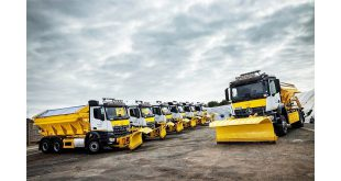 Ringway Jacobs gears up for winters worst with eight new Mercedes-Benz Arocs gritters