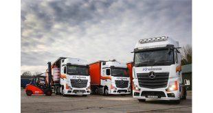 Mercedes-Benz trucks are peak performers for K2 Transport