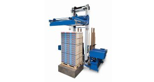Strapping close to the product Mosca at LogiMAT 2020