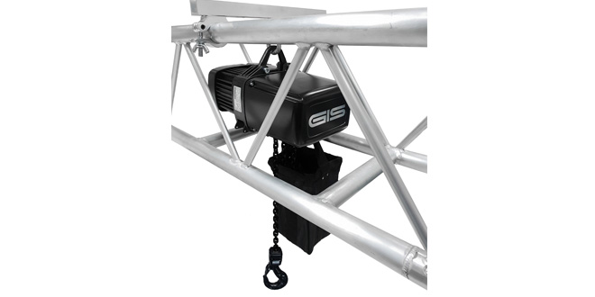 GIS Launches Two Lightweight Entertainment Hoists for Mobile Use
