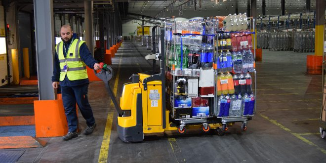 Industry-first test to boost pallet and stacker truck safety