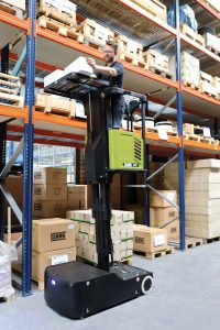 For universal use in the warehouse and in daily operation