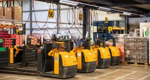 Fronius battery charging technology optimises the flow of goods in SPAR central warehouse