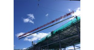 Rope and Sling Beam for Welsh School Construction