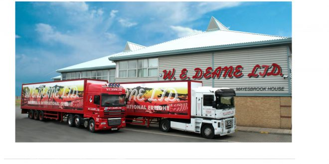 W E DEANE FREES UP 5000 PALLET SPACES TO HELP BUSINESSES MANAGE CORONAVIRUS INDUCED DEMAND