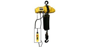 OZ Lifting Expands Electric Chain Hoist Range