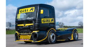 NEW GITI TIRE RACING TRUCK SECURES FOUR PODIUM FINISHES ON EUROPEAN DEBUT