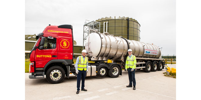 SUTTONS WINS 10 YEAR CONTRACT WITH YORKSHIRE WATER