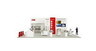 ABB robots for processing and packaging highlighted in virtual panoramic tour