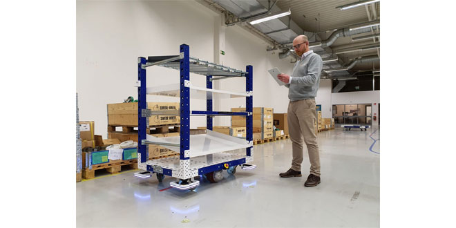 FlexQube Wins First Order in the UK