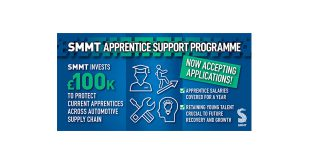 SMMT steps in to save automotive apprenticeships with new Covid salary support scheme for SMEs