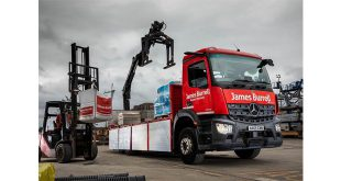 Safety focused James Burrell builds towards FORS Silver with new-generation Mercedes-Benz Arocs