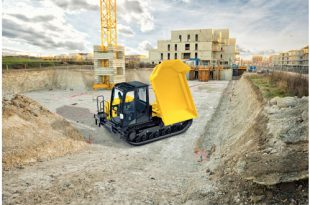 Yanmar launches all-new C50R-5A tracked carrier