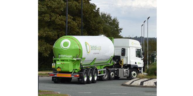 Abbey Logistics adds 9 new Road Tankers to British Sugar Fleet