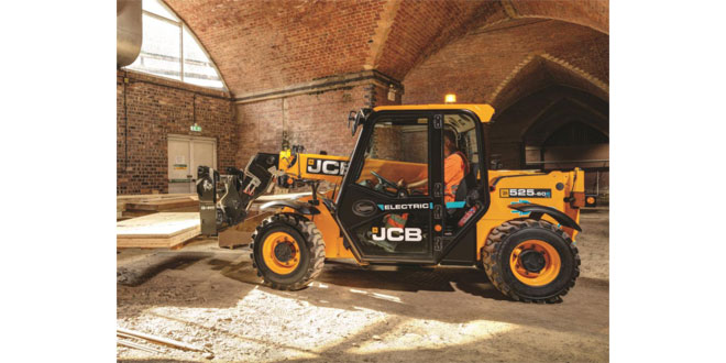 Bennie Equipment invest in New JCB 525-60E Electric Telehandler
