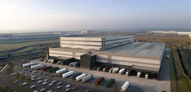 DP World London Gateway and DHL commence warehouse build