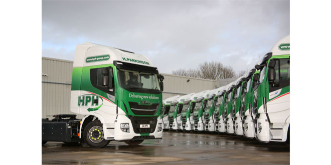 Preston haulier H Parkinson Haulage takes delivery of seven new Stralis NP 460s to replace Stralis NP 400s