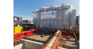 Collett & Sons deliver a 68Te transformer from Slovenia to Tilbury Substation